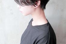 ハンサムショート × 暗髪